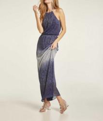 Večerné trblietavé šaty Heine, modrá