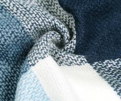 Veľká štvorcová šatka, modro-svetlomodrá