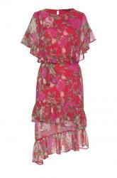 VERO MODA šaty LILI kvetované, farebné