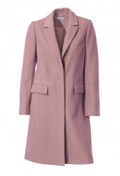 Vlnený kabát Rick Cardona, ružový