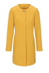 Vlnený kabátik HEINE, žltá