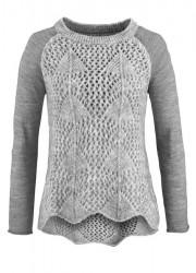 Vlnený unikátny pulóver