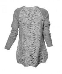 Vlnený unikátny pulóver #1