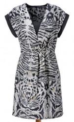 Vzorované šaty Aniston