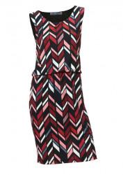 Vzorované šaty s podšívkou Ashley Brooke 5ff8404a806