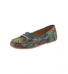 Vzorované topánky Heine, farebné