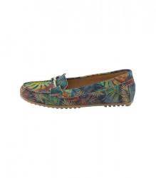 Vzorované topánky Heine, farebné #1
