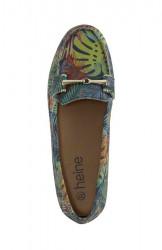 Vzorované topánky Heine, farebné #3