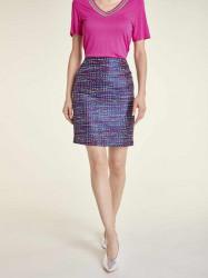 Žakarová sukňa Heine, farebná