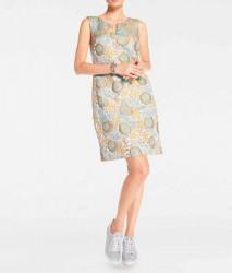 Žakarové púzdrové šaty v kvetinovom dizajne, farebné #2