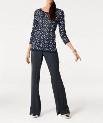 Žakarový pulóver Patrizia Dini #1