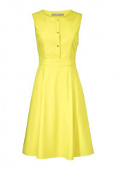 Žlté elegantné šaty Ashley Brooke
