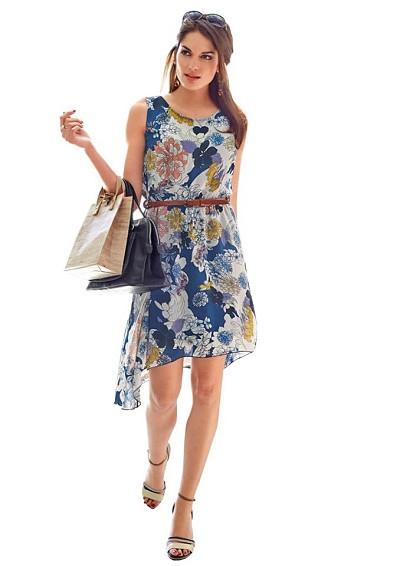 Asymetrické šaty Vivance Collection