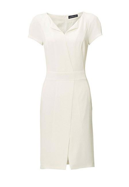83fd579c280e Biele púzdrové šaty PATRIZIA DINI - Mini šaty - Locca.sk