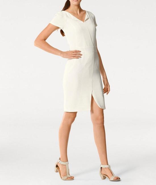 512b79e0a4ca Biele púzdrové šaty PATRIZIA DINI - Mini šaty - Locca.sk