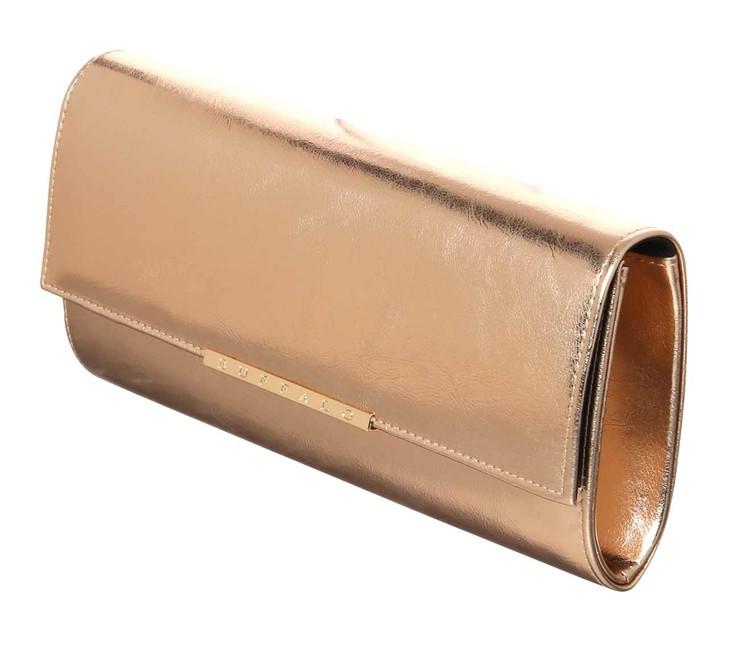 BUFFALO clutch kabelka, ružové zlato