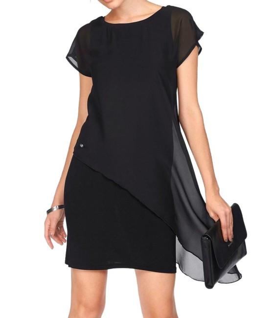 0900d126ec6f Čierne šaty s vlečkou Bruno Banani - Spoločenské šaty - Locca.sk