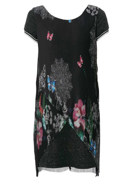 Desigual plisované šaty - Spoločenské šaty - Locca.sk 73642bf15f7