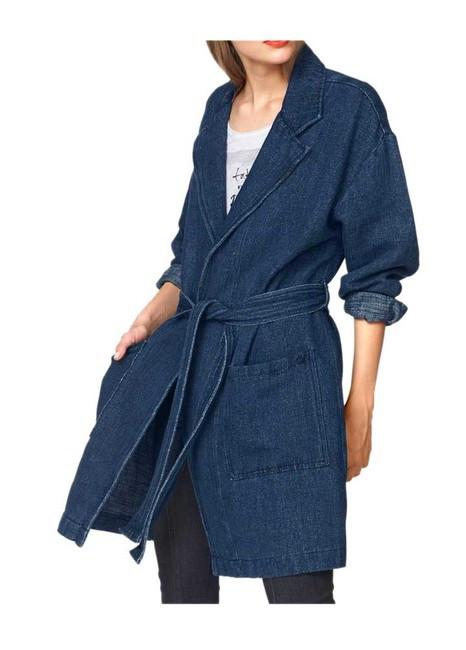 Džínsový kabát Pepe Jeans, modrý
