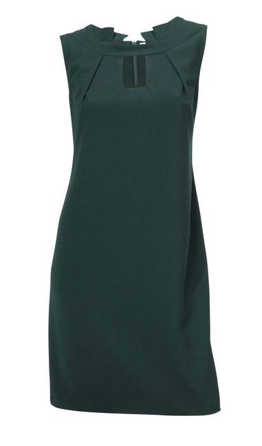 1a0ba3f2d0c0 Elegantné tmavo-zelené šaty - Mini šaty - Locca.sk