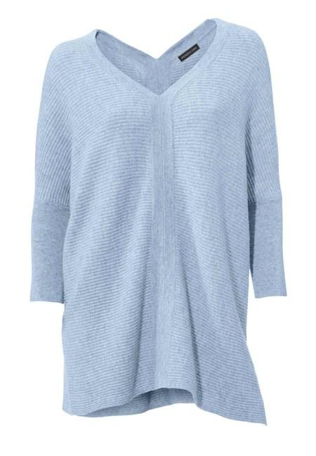 Kašmírový sveter, svetlomodrý PATRIZIA DINI