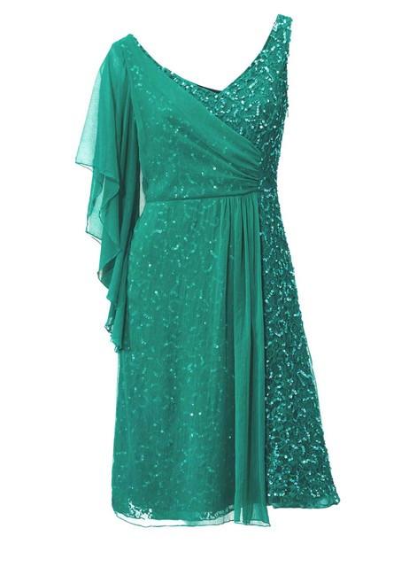 Kokteilové smaragdové šaty - Spoločenské šaty - Locca.sk 2ba8ea8c077