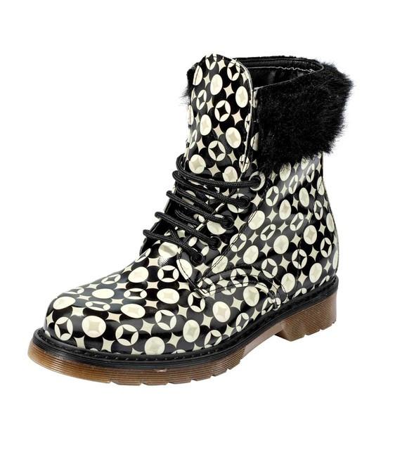 3ae90df842 Kotníkové topánky s kožušinou