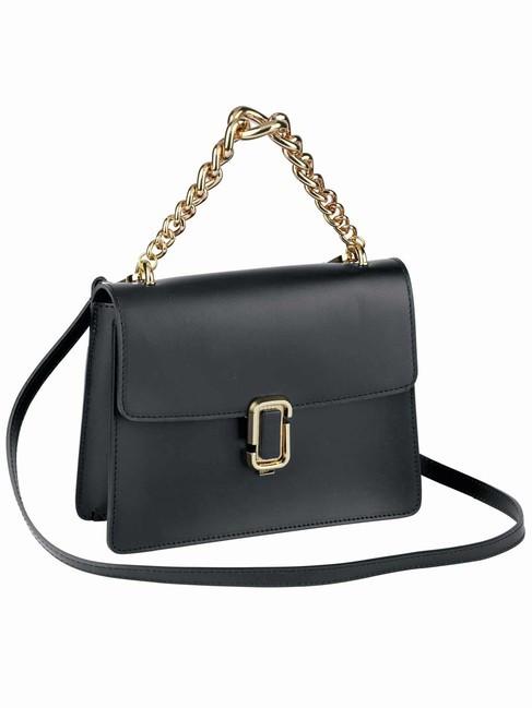 Kožená čierna kabelka - Elegantné kabelky - Locca.sk bff1deed902