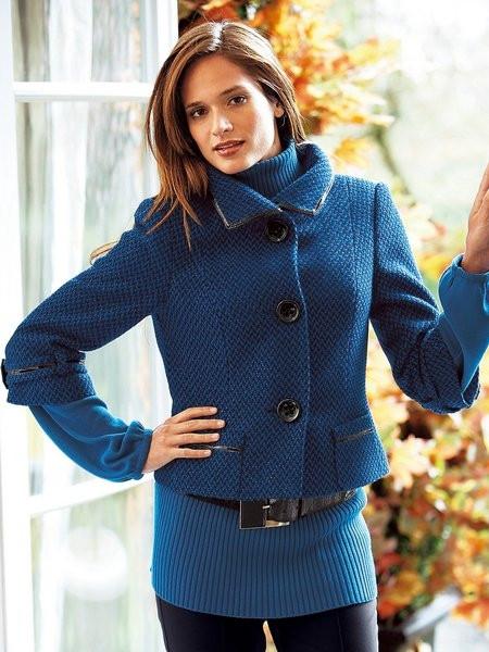 Krátky elegantný kabát HEINE - Dámske kabáty - Locca.sk 83226efd916