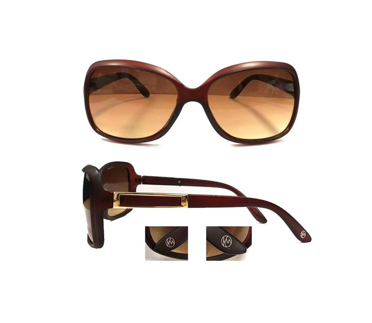 2b6345692 KW slnečné okuliare Miami - vyblednutej čiernej farby - Dámske ...