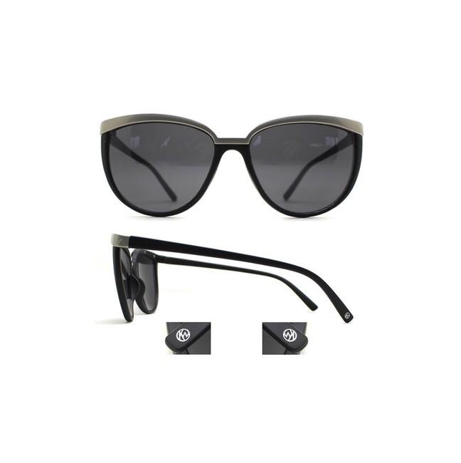 71f28f1f6 KW slnečné okuliare Ženeva - v matnej čiernej farbe - Dámske slnečné ...