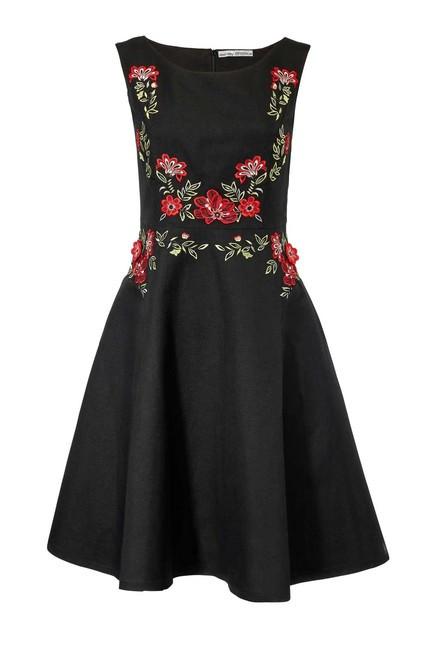 Ľanové vyšívané šaty Ashley Brooke