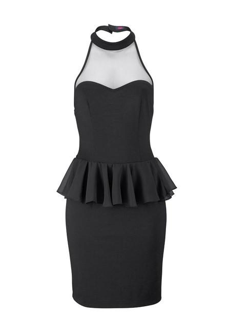 07d93d1fe1b8 Malé čierne peplum šaty BUFFALO - Spoločenské šaty - Locca.sk