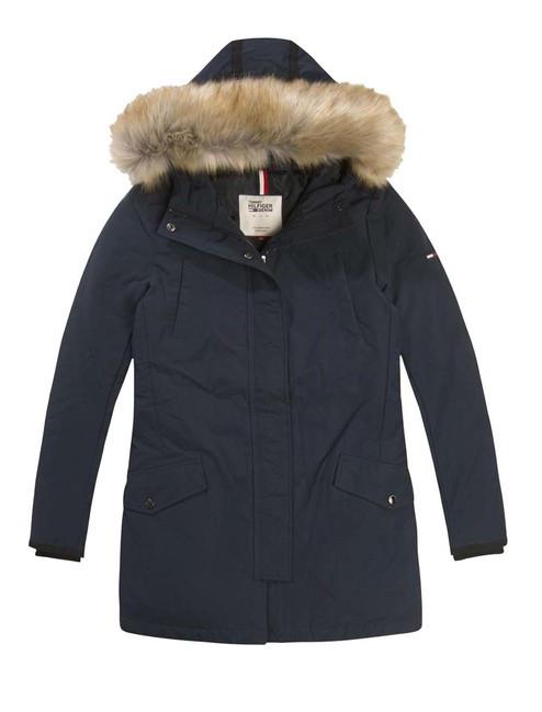 8e14005aa Páperová bunda TOMMY HILFIGER DENIM, modrá - Dámske bundy - Locca.sk