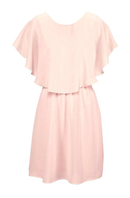de1315d50f74 Ružové šifónové šaty VERO MODA - Mini šaty - Locca.sk