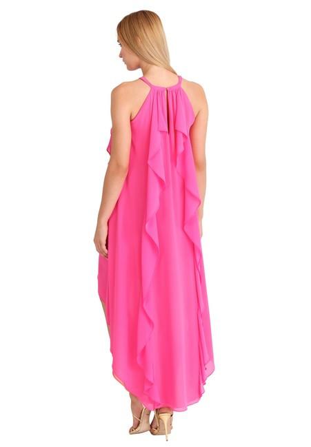 a3513e1cfc7b Ružovo-koralové šaty APART - Spoločenské šaty - Locca.sk