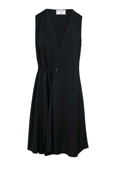 Šaty s eleganciou Rick Cardona, čierna