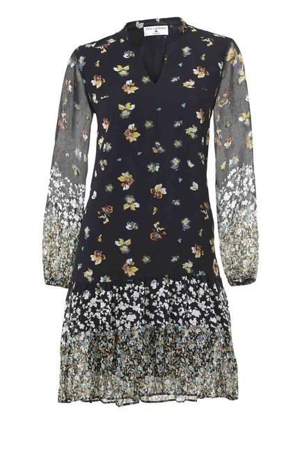Šaty s kvetinovou potlačou Rick Cardona, viacfarebná
