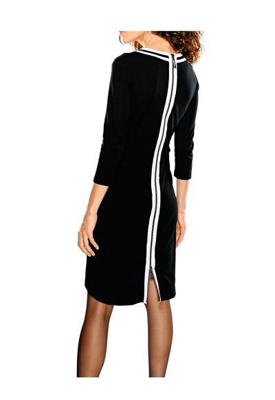 f01d66d6fe7f Štýlové šaty so zipsom Rick Cardona - Dámske elegantné šaty - Locca.sk