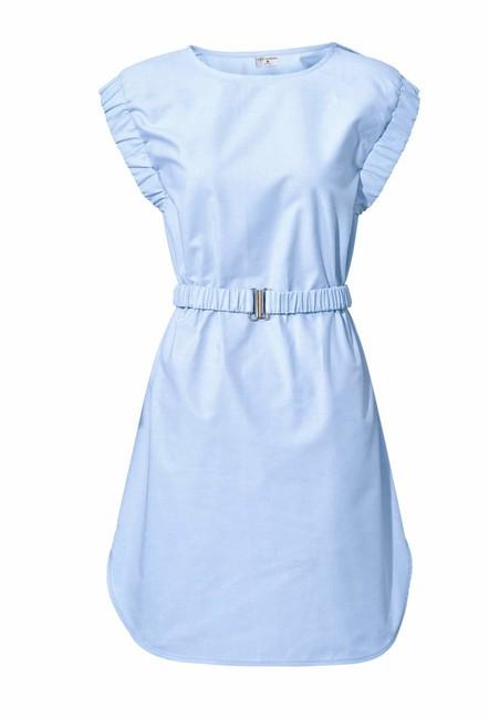 30a9fd1faed6 Svetlo-modré šaty Rick Cardona - Mini šaty - Locca.sk