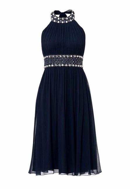 Tmavo-modré spoločenské šaty - Spoločenské 7f3d9ca954