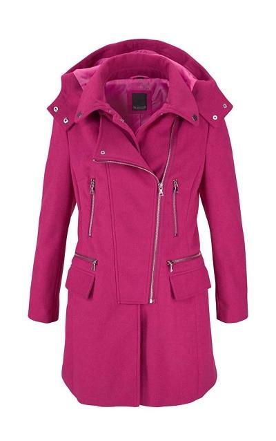 4c32ed5e27 Vlnený kabát Laura Scott - Dámske flaušové kabáty - Locca.sk