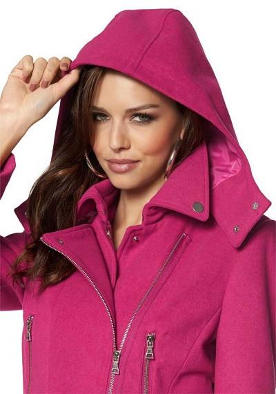 Vlnený kabát Laura Scott - Dámske flaušové kabáty - Locca.sk 6024d8f733d