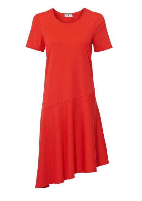 Žiarivé koralové šaty Rick Cardona