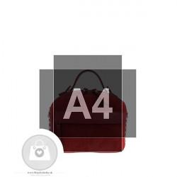 Crossbody kabelka IMPORT koža - MKA-498664 #8