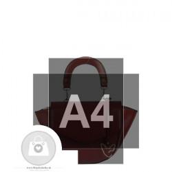 Elegantná kabelka FEMESTAGE ekokoža - MKA-503150 #6