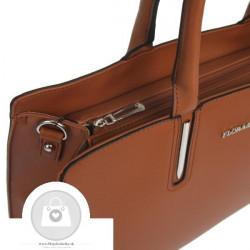 Elegantná kabelka FLORA&CO ekokoža - MKA-502904 #5