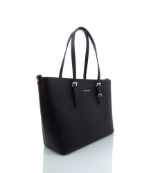 Elegantná kabelka FLORA&CO - MK-495953- čierna #1