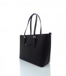 Elegantná kabelka FLORA&CO - MK-495953- čierna #2