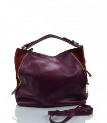 Exkluzívna kožená kabelka MK-482783 #1